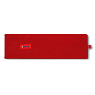 Kama headband, Tecnopile fleece, red