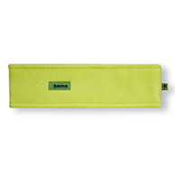 Kama headband, Tecnopile fleece, green