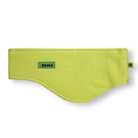 Kama headband, wide, Tecnopile fleece, green