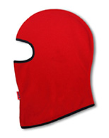 Kama Kids Fleece Balaclava, for kids, red