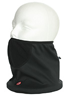 Kama neck warmer with Gore Windstopper, black