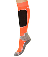 Seger Racer, Mens Ski Socks, orange