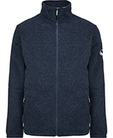 Weather Report, Conil fleece jacket, blue melange