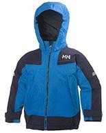 Helly Hansen K Velocity kids and junior jacket, blue