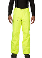 Spyder Propulsion Tailored Fit mens ski pants, Yellow