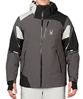 Spyder Leader Ski Jacket Men, Grey