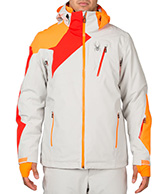 Spyder Vyper Mens Ski Jacket, Light Grey