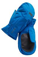 Helly Hansen K Padded Mittens, kids, cobalt blue