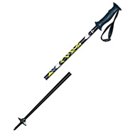 Fischer Unlimited standard ski pole, alu/yellow