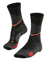 Falke SC1  womens XC ski socks, black