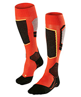 Falke SK4 ski socks, men, orange