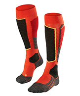 Falke SK2 ski socks, men, orange