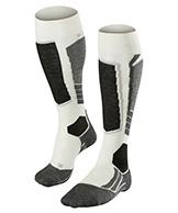 Falke SK2 Wool ski socks, women, offwhite