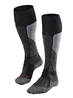 Falke SK1 ski socks, women, black
