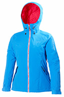 Helly Hansen W Sundance womens ski jacket, blue