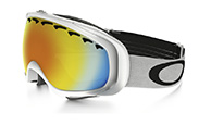 Oakley Crowbar, Matte White, Fire Iridium