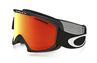 Oakley O2 XM, Matte Black, Fire Iridium