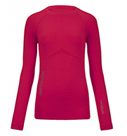 Ortovox Merino Competition Long Sleeve W, red