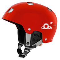 POC Receptor BUG Adjustable, ski helmet, red