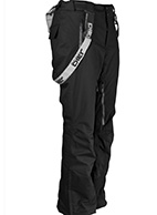 DIEL Anton mens ski pants, black