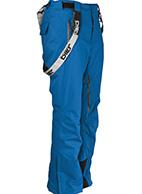 DIEL Anton mens ski pants, blue