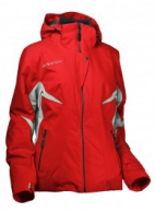 DIEL Cynthia, womens ski jacket, red