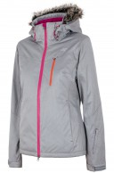 4F Natalie  womens ski jacket, grey