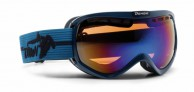 Demon Raptor OTG ski goggle, blue