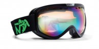 Demon Raptor OTG ski goggle, Matt Black