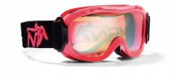 Demon Magic junior ski goggle, red