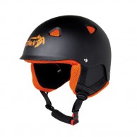 Demon Action ski helmet, black/orange