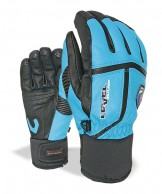 Level Off Piste Leather, gloves, blue
