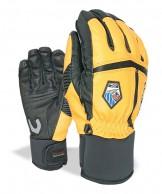 Level Off Piste Leather, gloves, orange