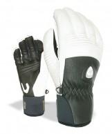 Level Off Piste Leather, gloves, black/white