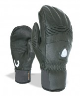 Level Off Piste Leather W Mitt, black