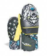 Level Animal Mitt, black/yellow