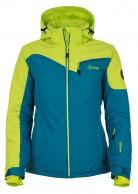 Kilpi Keira, womens short ski jacket, green