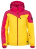 Kilpi Keira, womens short ski jacket, pink