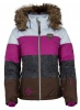 Kilpi Eufana, womens down jacket, brown