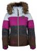 Kilpi Eufana, womens down jacket, brown