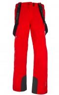Kilpi Caleb mens ski pants, red