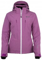 Kilpi Addison womens ski jacket, violet