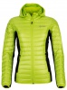 Kilpi Nektaria womens down jacket, green