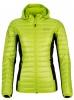 Kilpi Nektaria womens down jacket, green