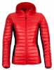 Kilpi Nektaria womens down jacket, red