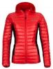 Kilpi Nektaria womens down jacket, red