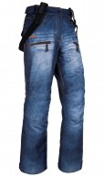 Kilpi Jeanster-W, womens Ski pants, jeans look