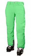 Helly Hansen Velocity Insulated mens ski pants, green