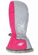 4F InnerTech junior ski mitts , girl. pink