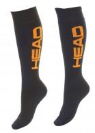 Head Ski Socks, blue, 2-pair